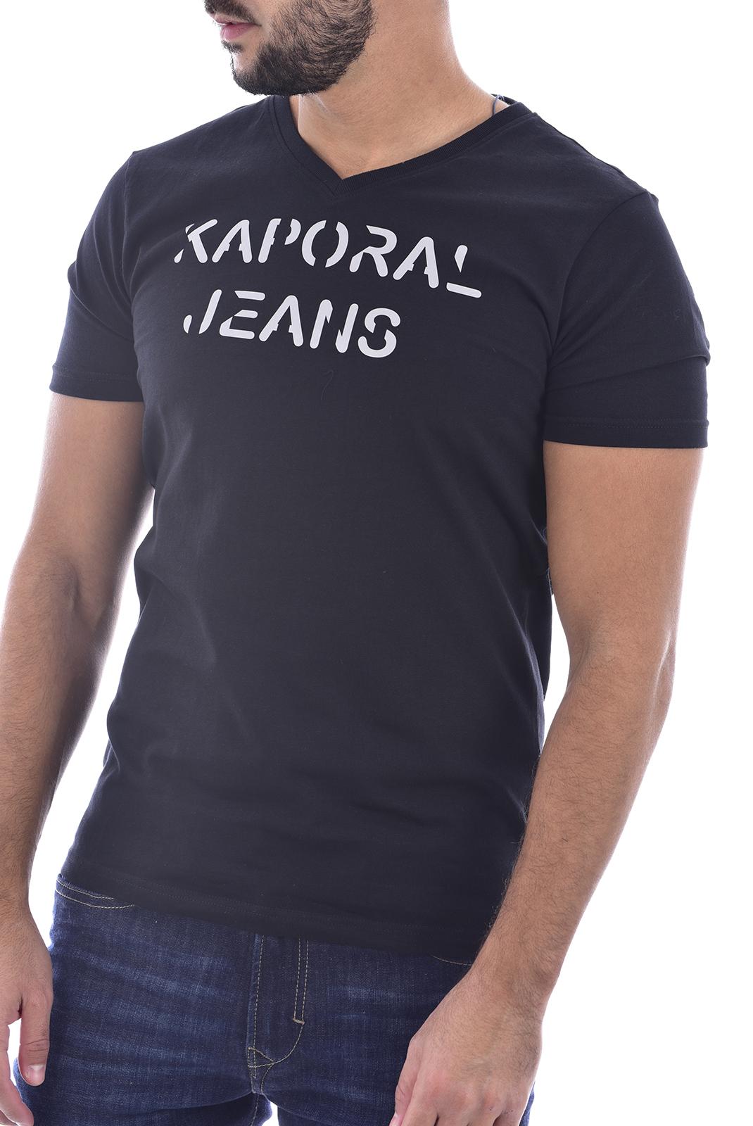 T-S manches courtes  Kaporal DALBI BLACK