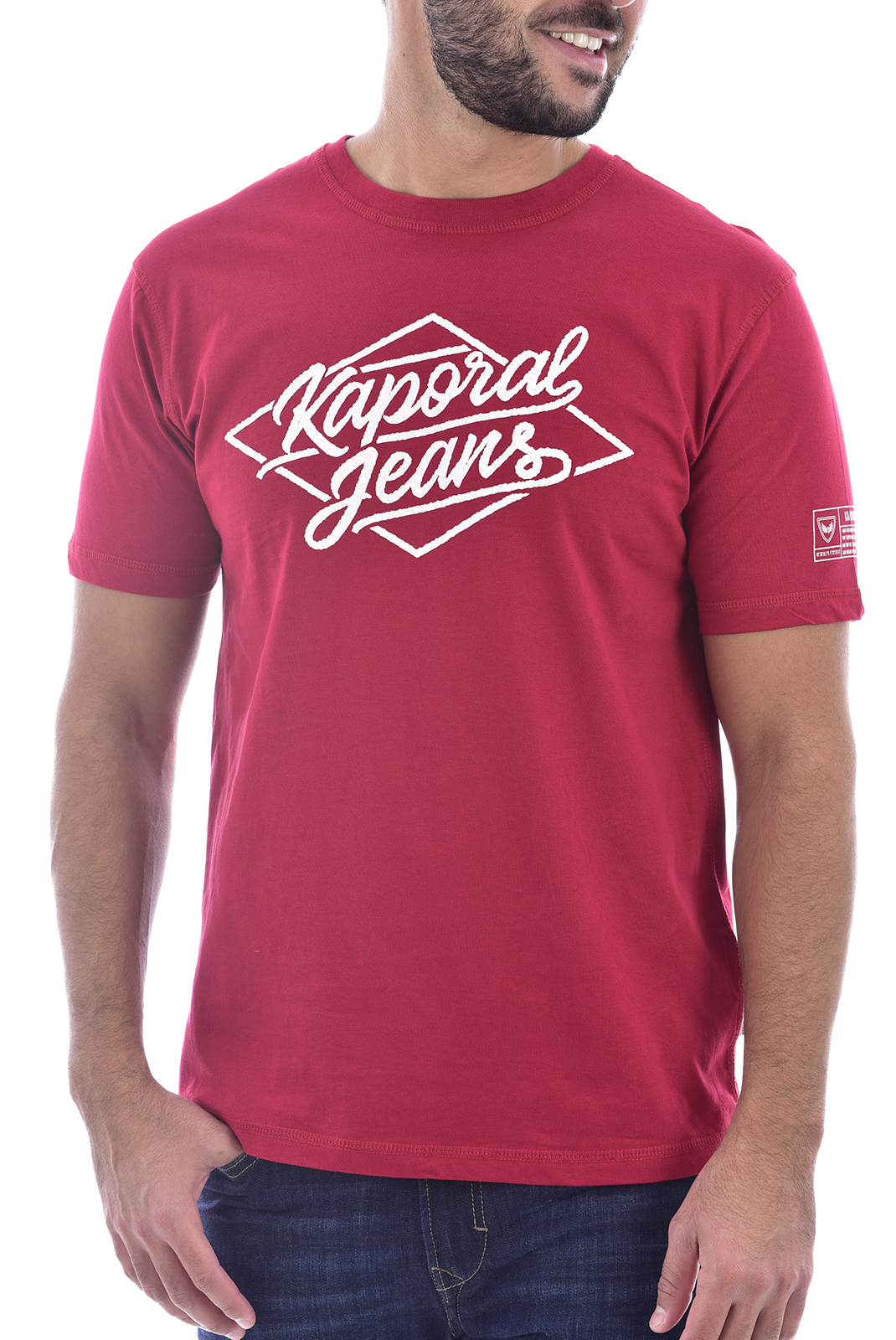 T-S manches courtes  Kaporal VITTO RED