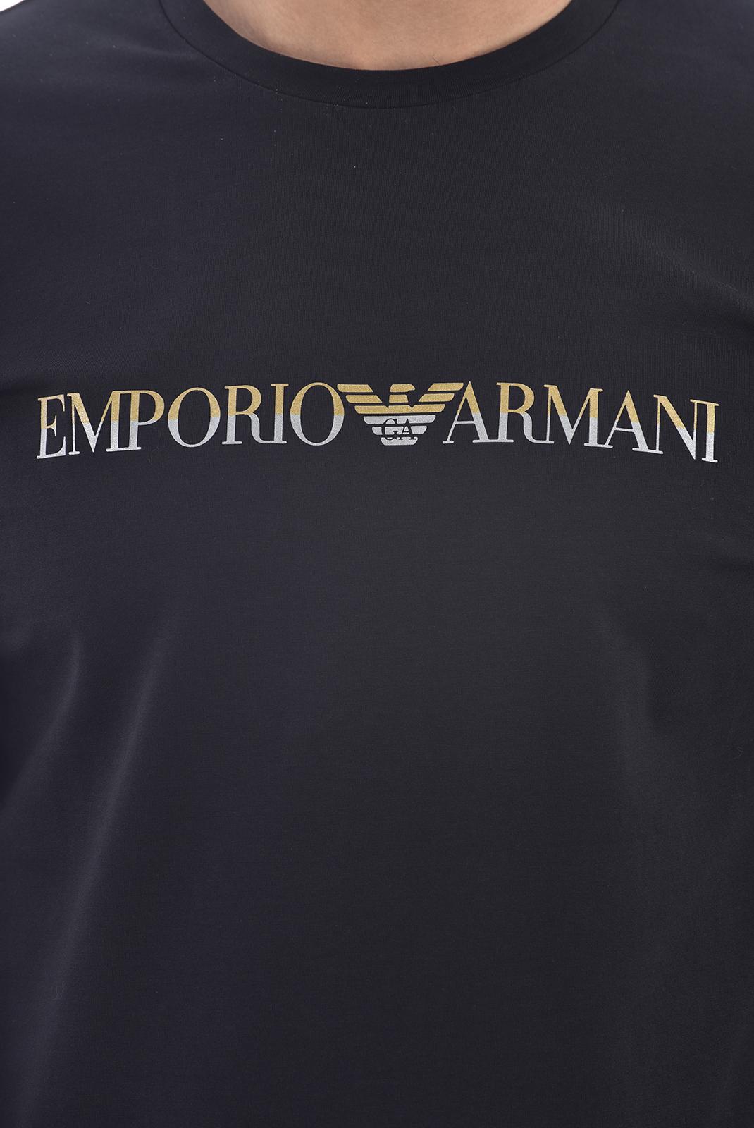T-S manches longues  Emporio armani 111653 0A595 020 BLACK