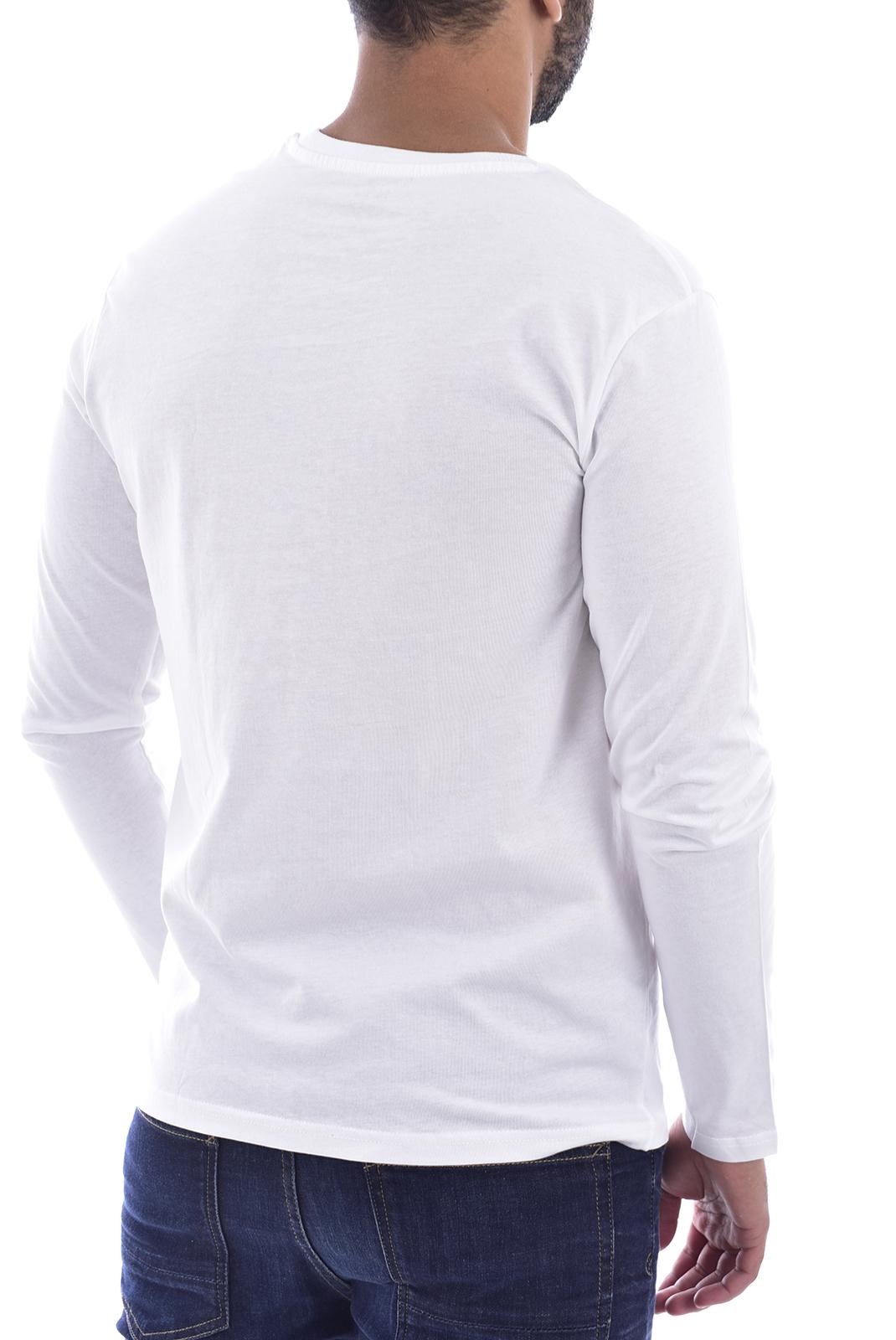 T-S manches longues  Nasa BASIC BALL O NECK LONG WHITE