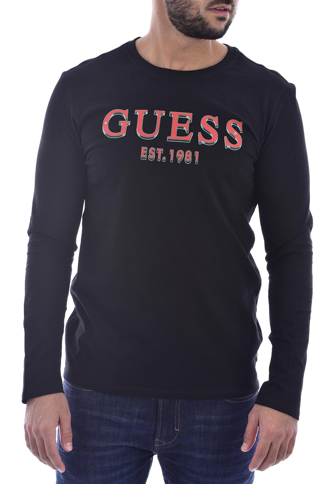 T-S manches longues  Guess jeans M0BI68 I3Z00 JBLK