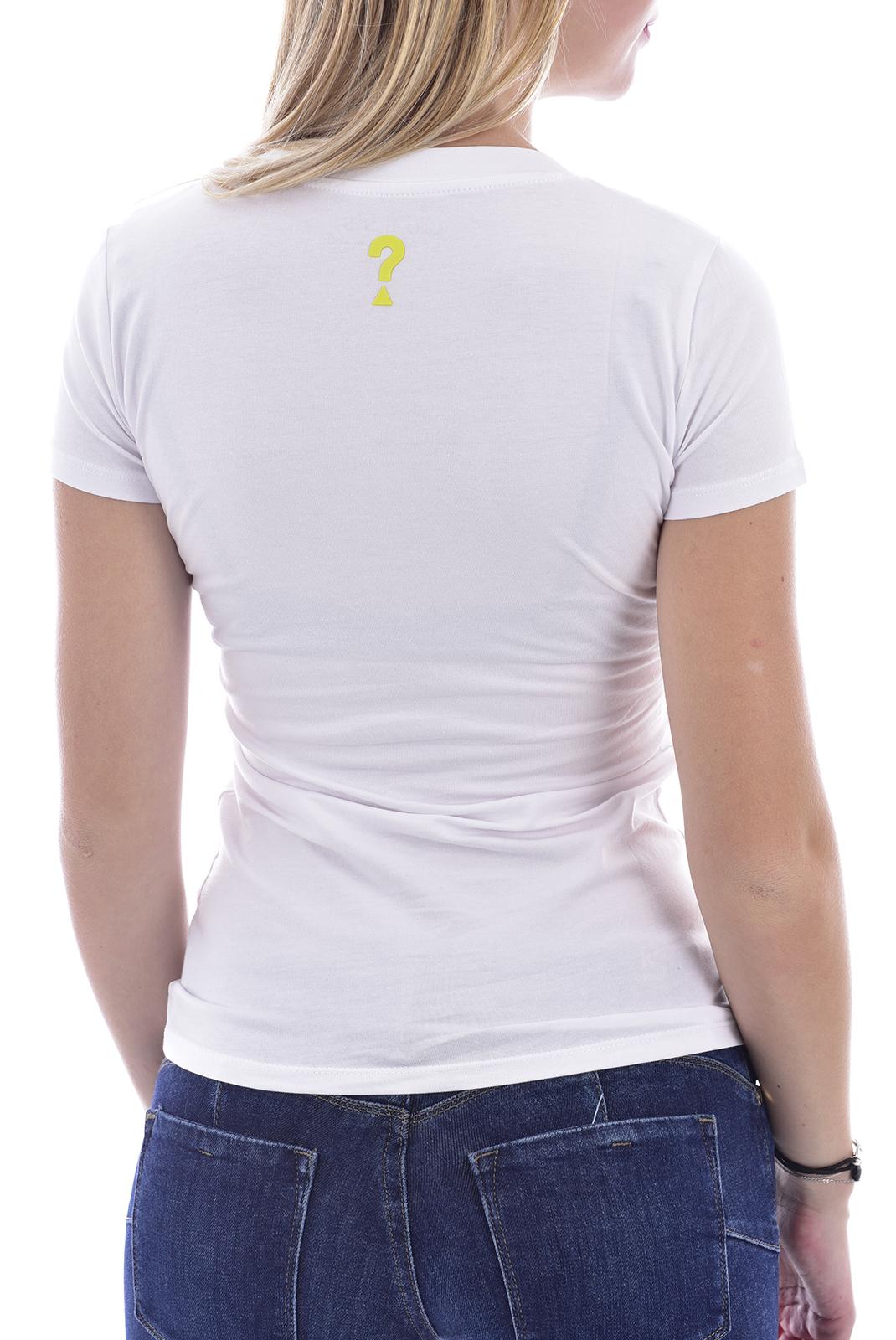 Tee shirt  Guess jeans W0BI71 J1300 TWHT