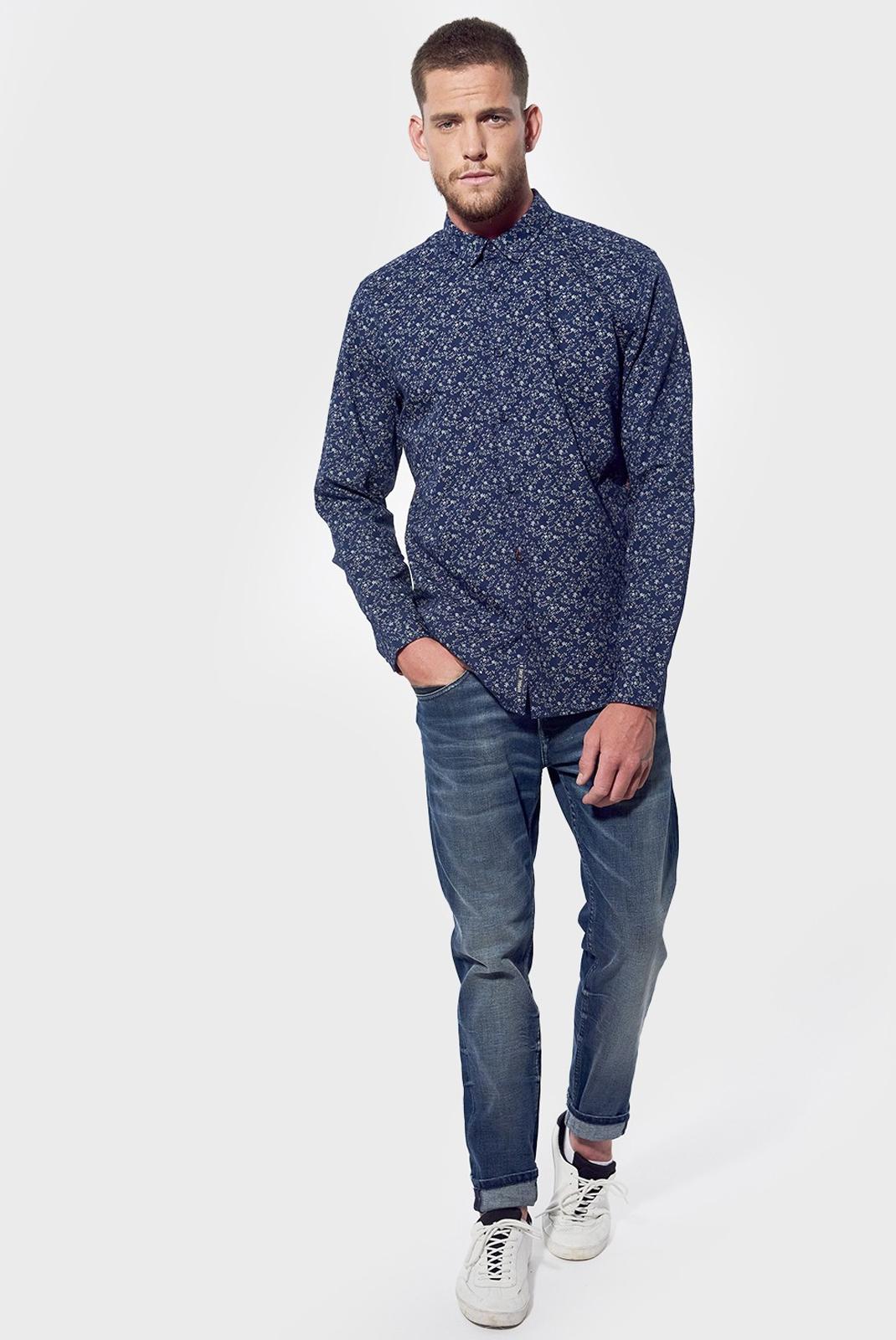 Chemises manches longues  Kaporal BELEM NAVY