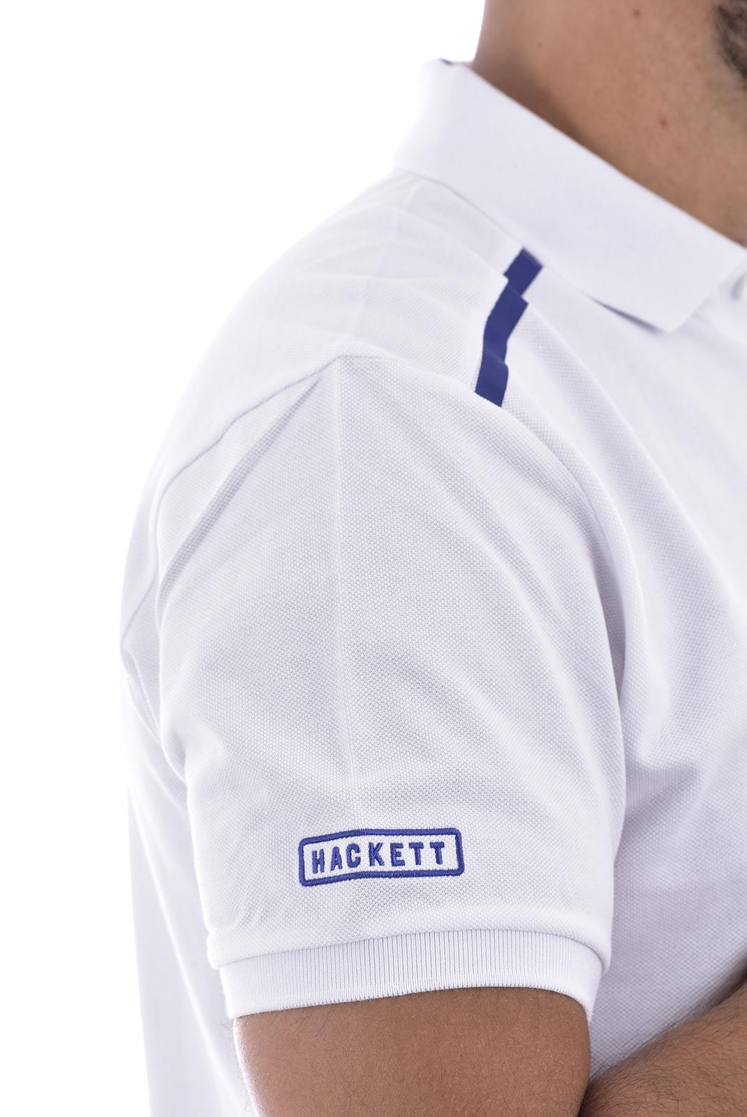 Polos  Hackett london HM562683 8AS blanc
