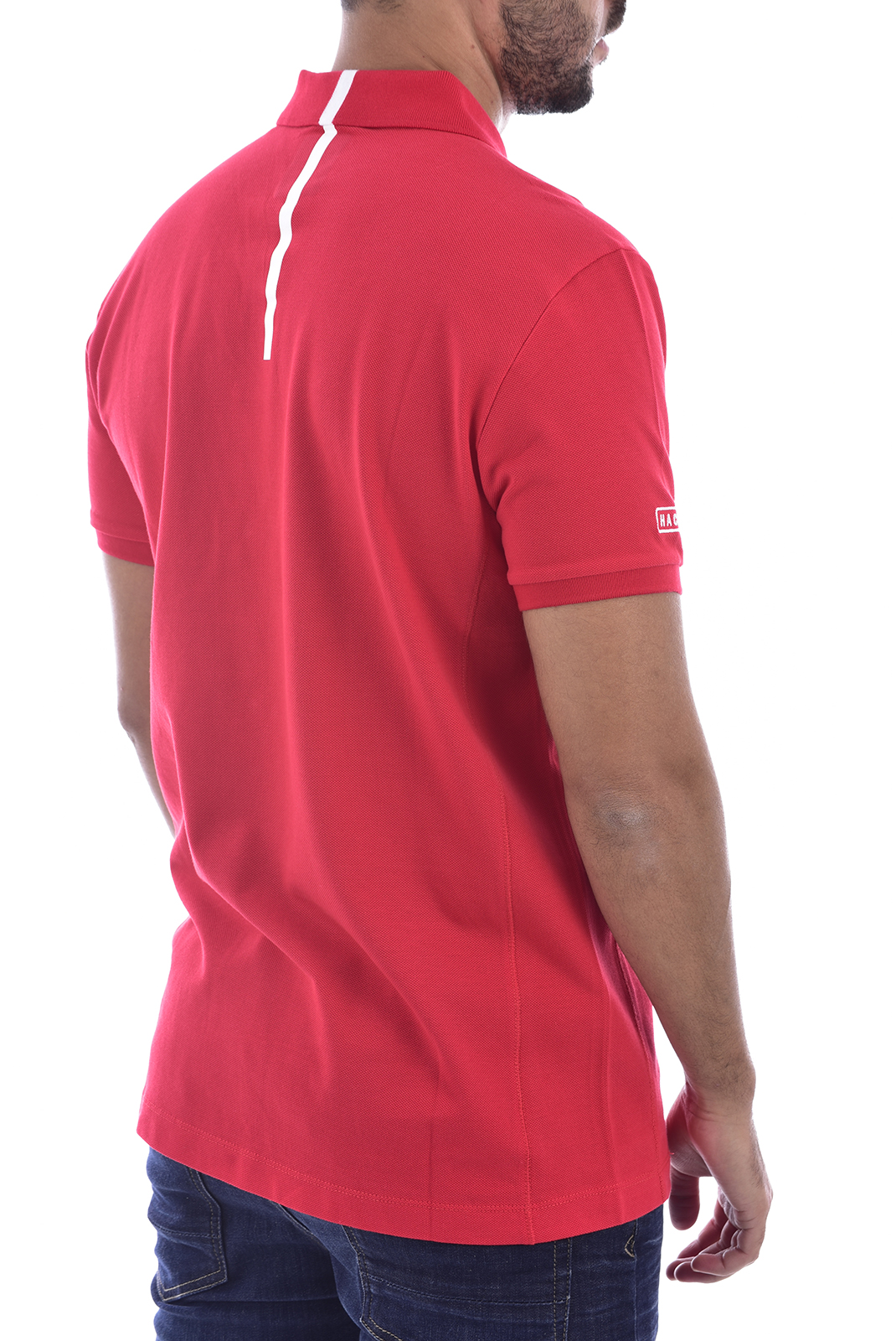 Polos  Hackett london HM562683 255 rouge
