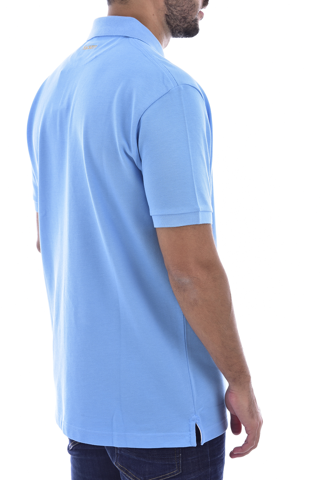 Polos  Hackett london HM562687 5PP bleu clair