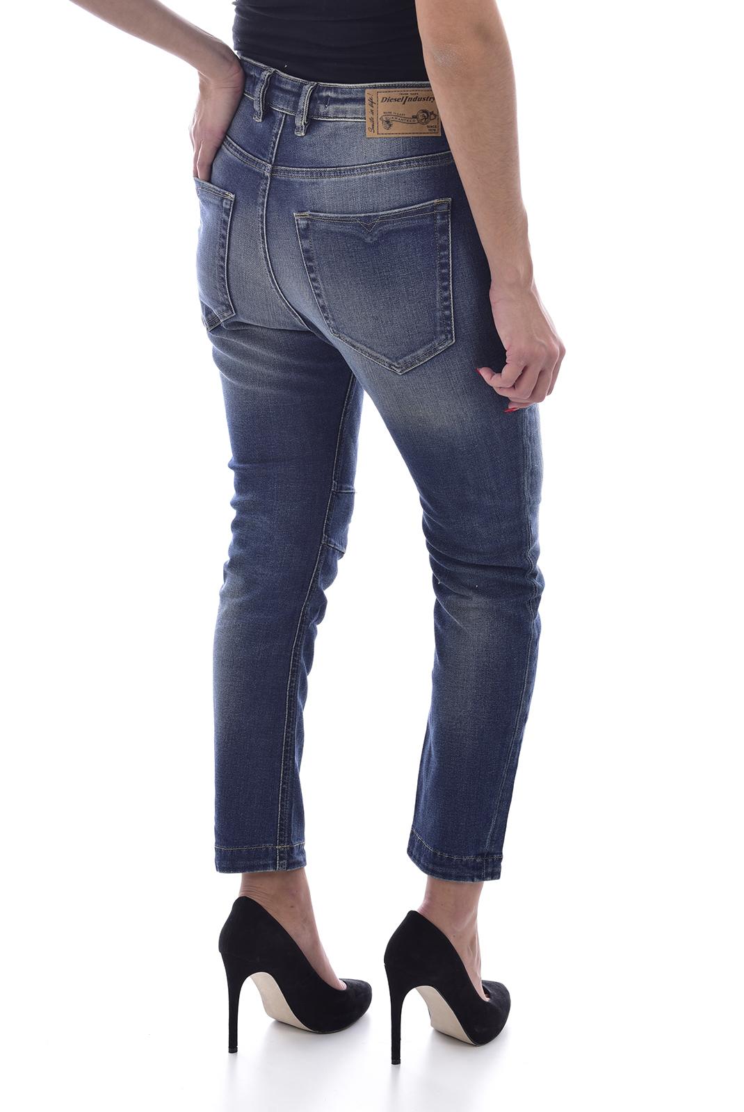 Jeans   Diesel EAZEE 0666P bleu