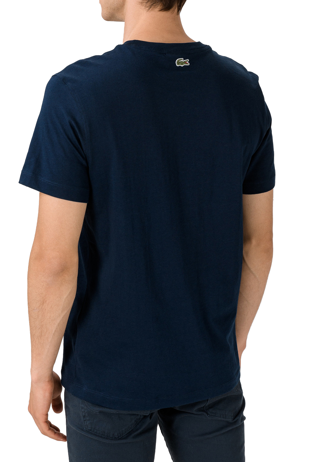 T-S manches courtes  Lacoste TH8804 00 166 NAVY