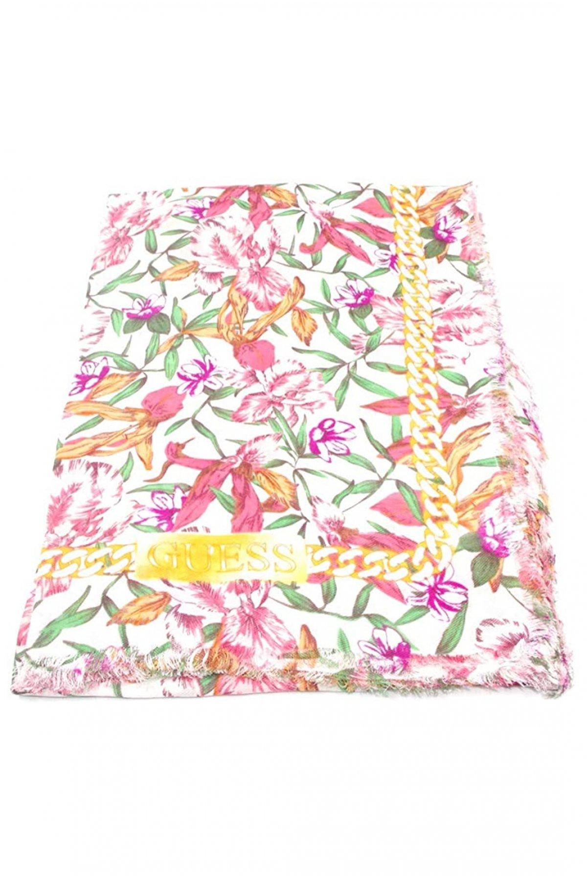 Foulard imprimé floral -