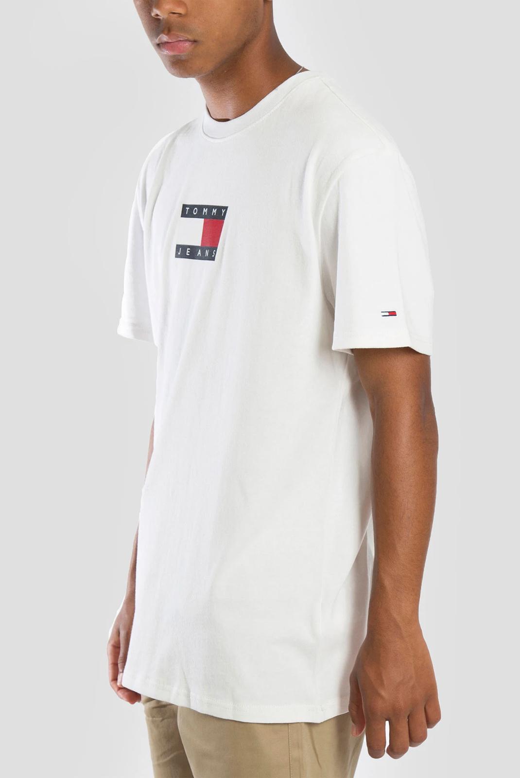 T-S manches courtes  Tommy Jeans DM0DM08351 YBR blanc