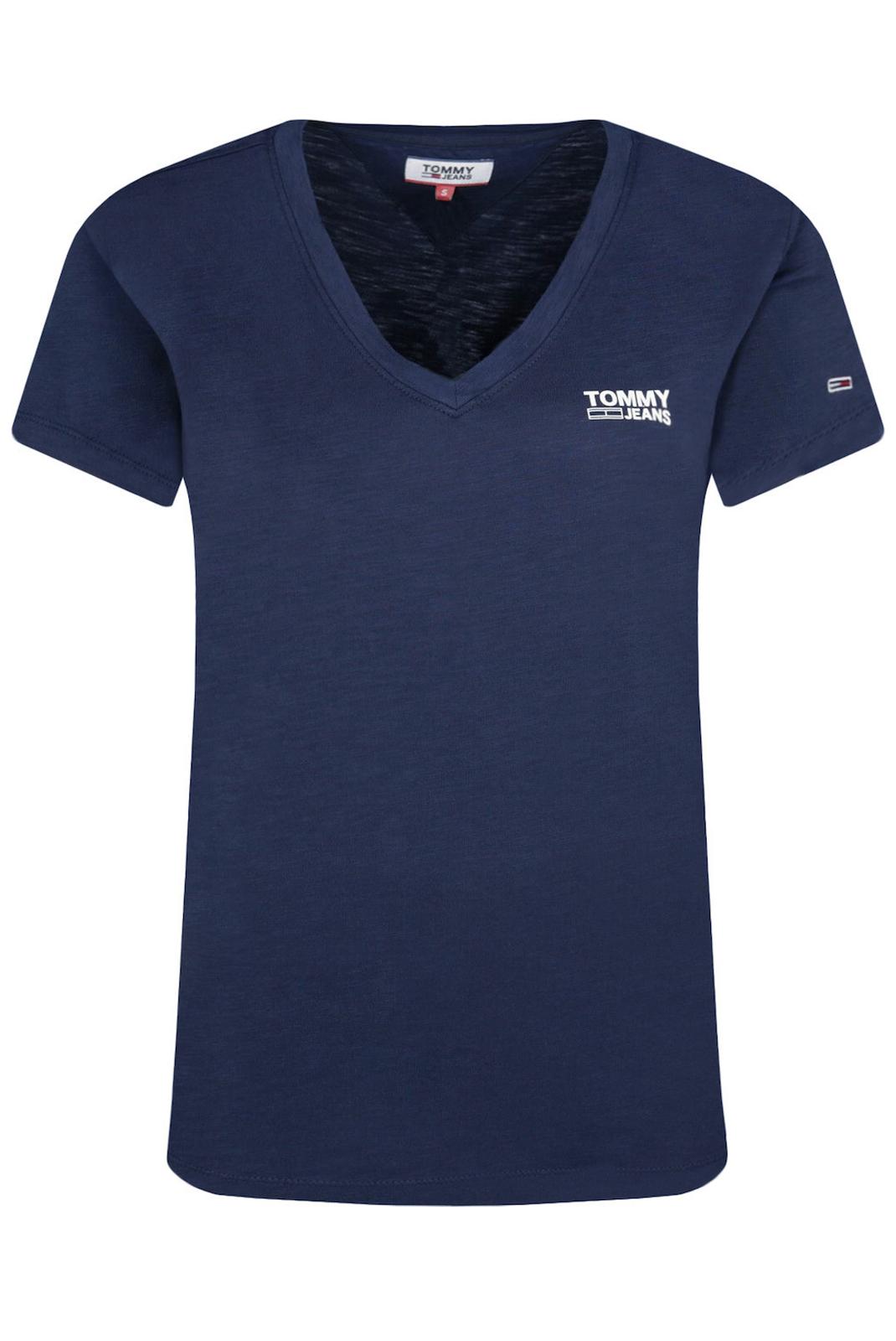Tee shirt  Tommy Jeans DW0DW08669 C87 marine