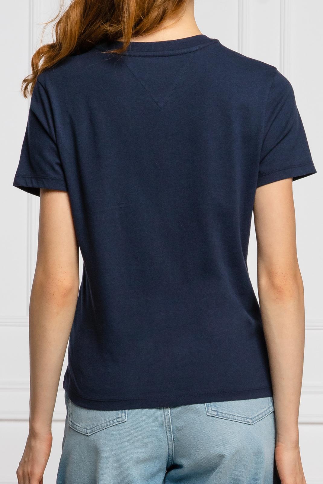 Tee shirt  Tommy Jeans DW0DW07036 C87 bleu