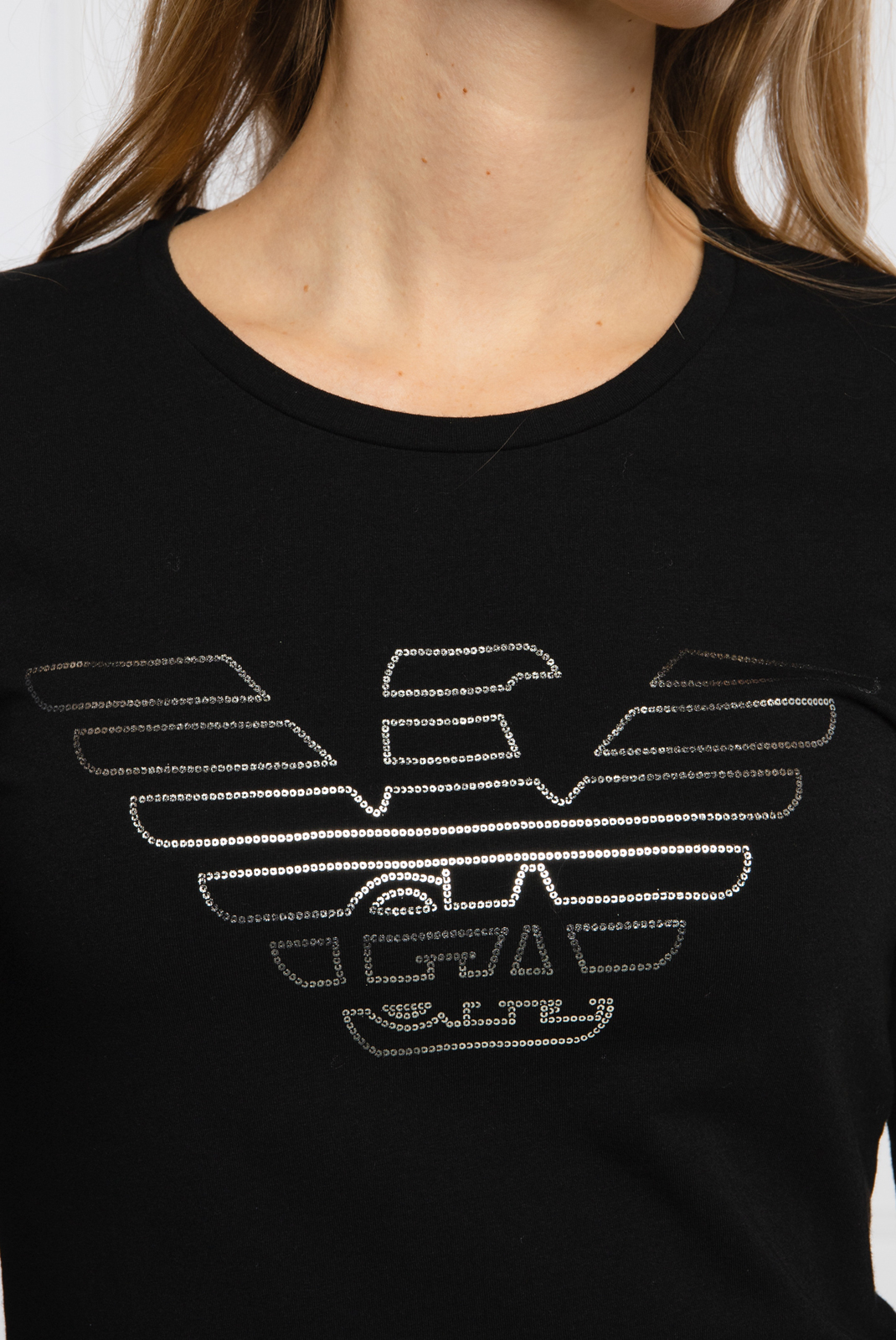 Tee shirt manches longues  Emporio armani 163229 0A232 00020 NERO