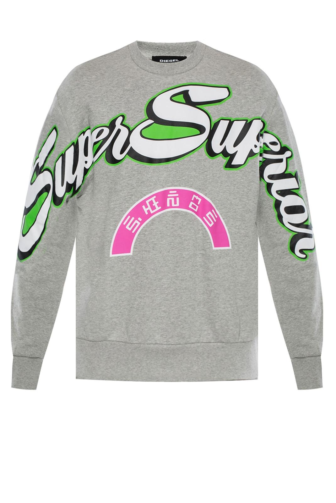 Sweatshirts  Diesel S-BAY RADIO GRIS